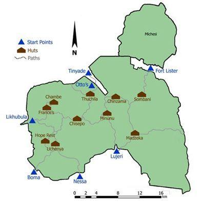 Hut Map