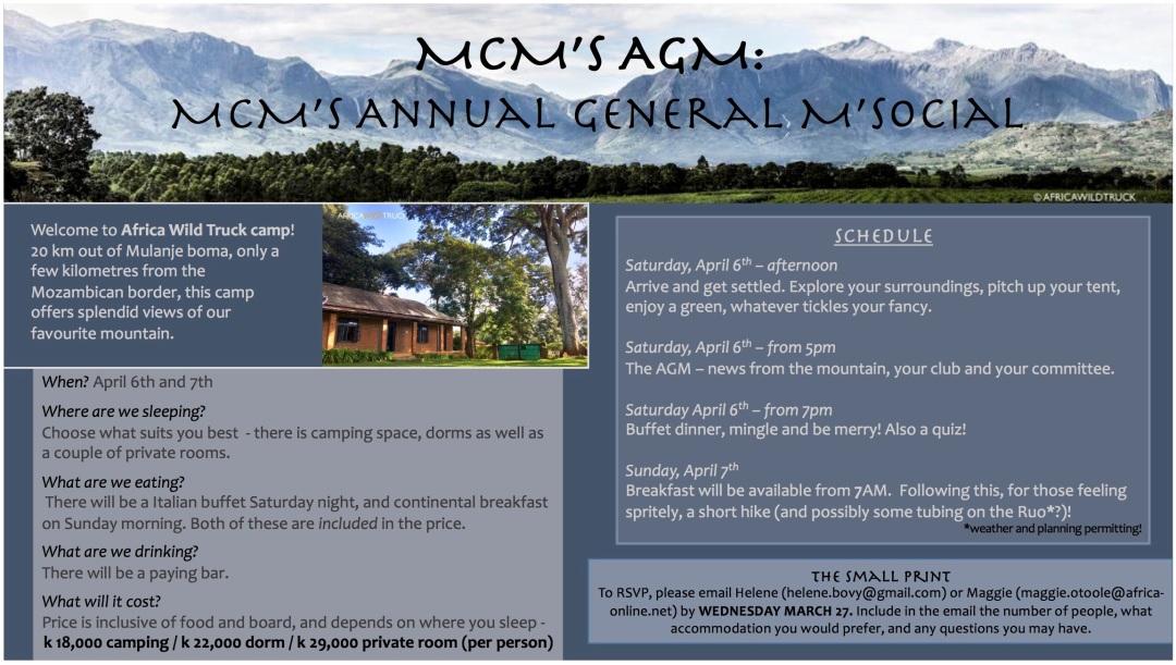 MCM AGM flyer